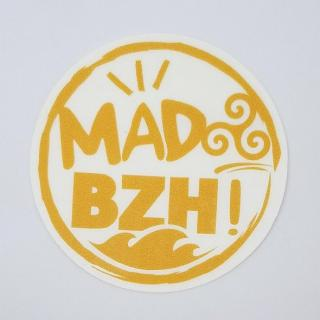 MAD BZH - Sticker / Orange - stickers