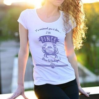 MAD BZH - T-shirt Pince Femme - tee shirt femme