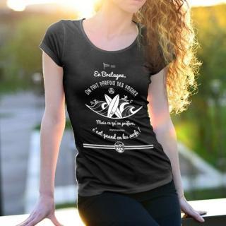 MAD BZH - T-shirt Surf Femme - tee shirt femme