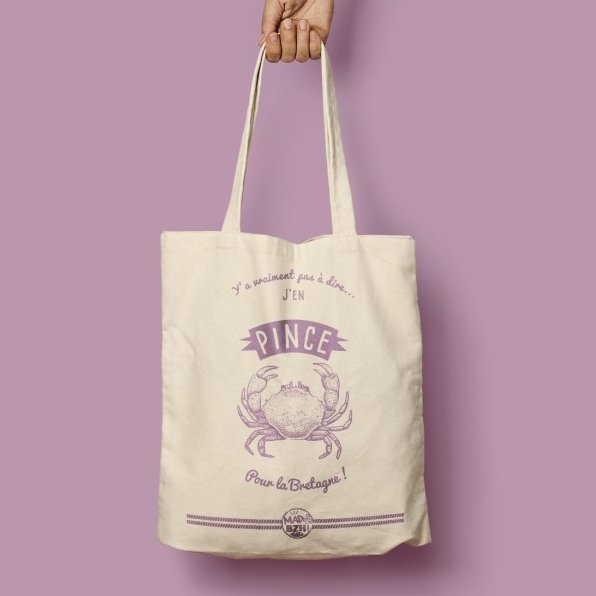 MAD BZH - Tote bag Pince - Tote bag