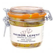 Maison Lepetit - Foie gras de canard entier - Foie gras - 180 gr