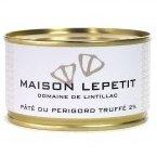 Maison Lepetit - Pâté du Périgord truffé - Pâté - 130 gr