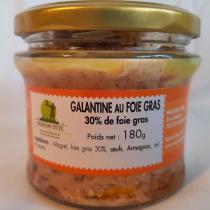 MAISON TETE - Galantine au foie gras 30% G1 - Canard et oie