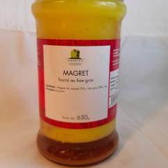 MAISON TETE - Magret de canard fourré au foie gras MFO - Magret de canard