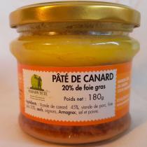 MAISON TETE - Pâté de canard 20% foie gras P1 - Canard et oie