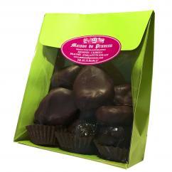 Maison du Pruneau - Ferme familiale fondée en 1916 - Pruneaux fourrés + Prun'Choco® - Pochette Mix 200g - Confiserie fruit / chocolat