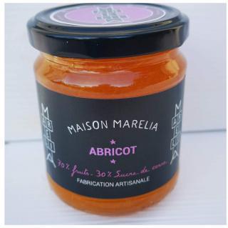 MAISON MARELIA - Abricot - Confiture - 0,250