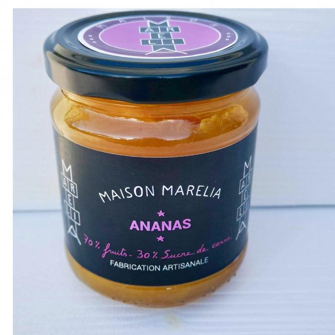 MAISON MARELIA - Ananas - Confiture - 0,250