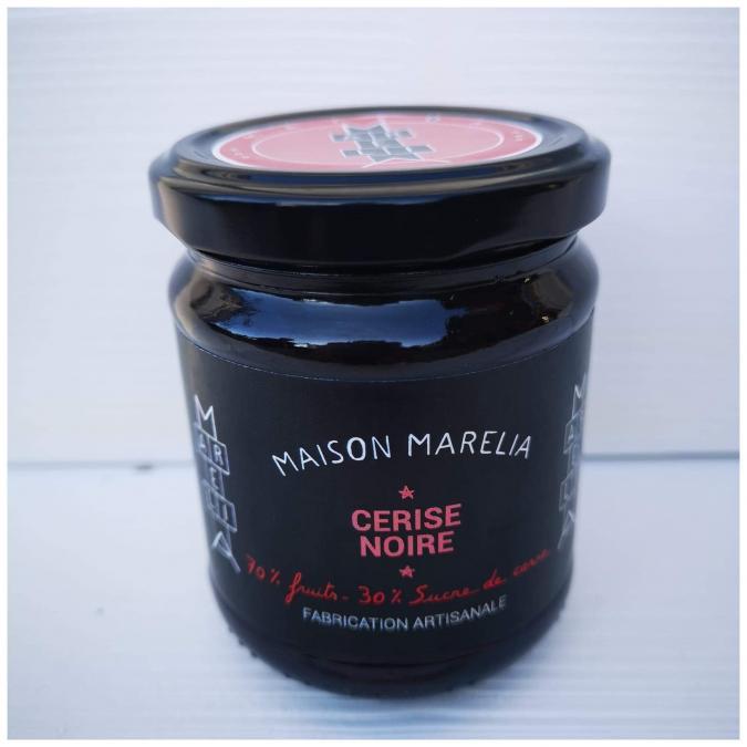 MAISON MARELIA - Cerise noire - Confiture - 0,250