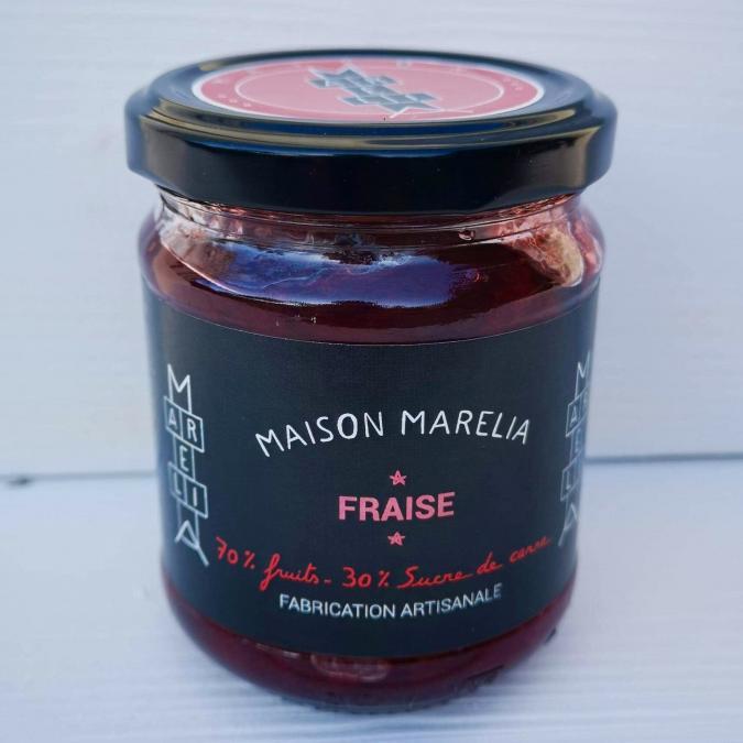 MAISON MARELIA - Fraise - Confiture - 0,250