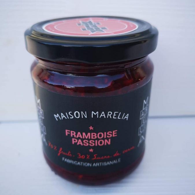 MAISON MARELIA - Framboise Passion - Confiture - 0,250