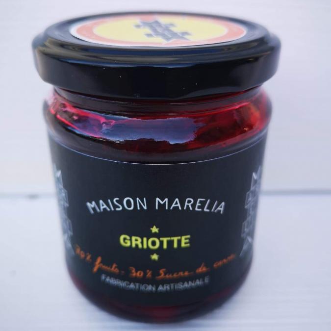 MAISON MARELIA - Griotte - Confiture - 0,250