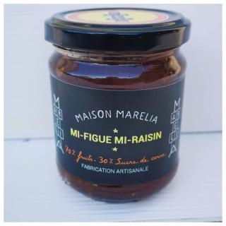 MAISON MARELIA - Mi-Figue Mi-Raisin - Confiture - 0,250