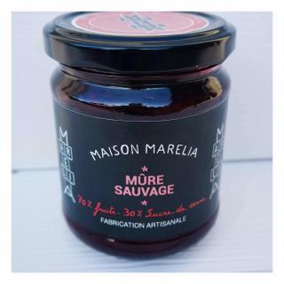 MAISON MARELIA - Mûre sauvage - Confiture - 0,250