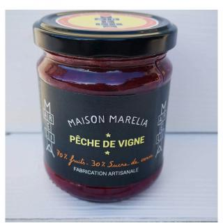 MAISON MARELIA - Pêche de vigne - Confiture - 0,250