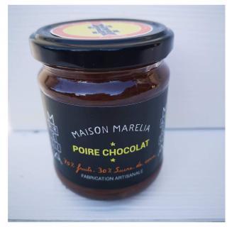 MAISON MARELIA - Poire chocolat - Confiture - 0,250
