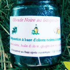 Ma Mosa - Olivade noire au Gingembre - 90 gr - Olivades