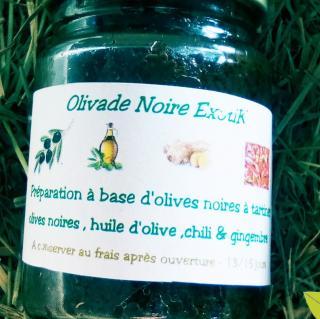 Ma Mosa - Olivade noire Exotik - 90 gr - Olivades
