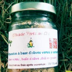 Ma Mosa - Olivade Verte au Chili - 90 gr - Olivades