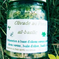 Ma Mosa - Olivade Verte au Pistou - 90 gr - Olivades
