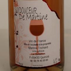 Domaine des Trois Cerisiers - DOUCEUR DE MARTINE - 1970 - Bouteille - 0.50L