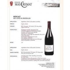 Mas Cremat - Dedicace - rouge - 2006 - Bouteille - 0.75L