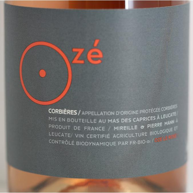 Mas des Caprices - Ozé le rosé ! - 2019 - Bouteille - 0.75L