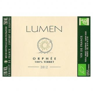 Mas Lumen - Orphée 2012 - 2012 - Bouteille - 0.75L