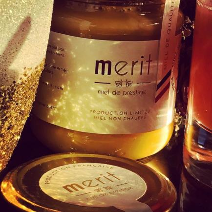 Merit - miel de prestige - Merit, du miel haut de gamme, de prestige. Miel de qualité, non chauffé. Port offert dès 40€.