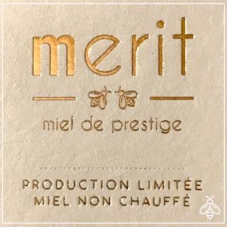 Merit - miel de prestige - Miel de fleurs d'été de prestige 250g - miel non chauffé, crémeux - Miel - 0.250