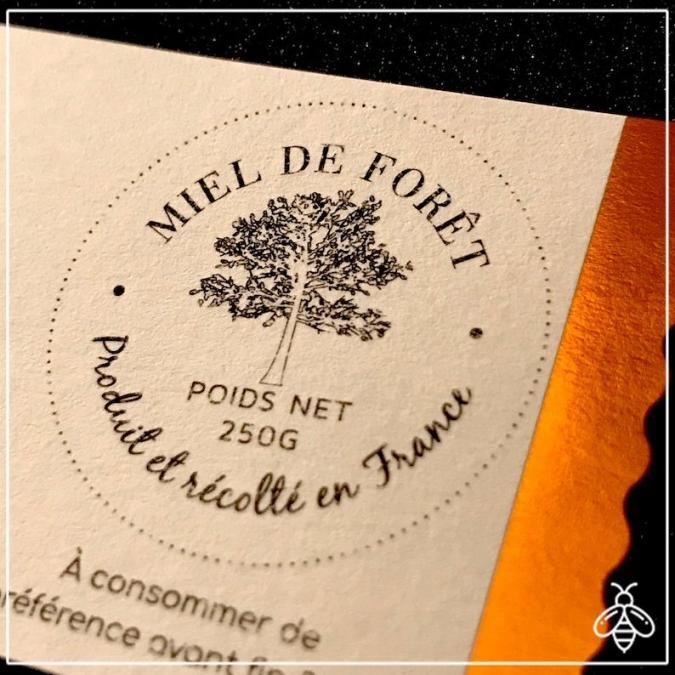Merit - miel de prestige - Miel de forêt de prestige 250g - chataignier/tilleul - miel non chauffé, miel typé - Miel - 0.250