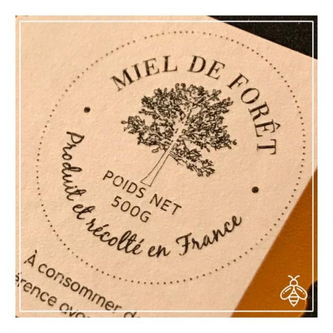 Merit - miel de prestige - Miel de forêt de prestige 500g - chataignier/tilleul - miel non chauffé, miel typé - Miel - 0.500