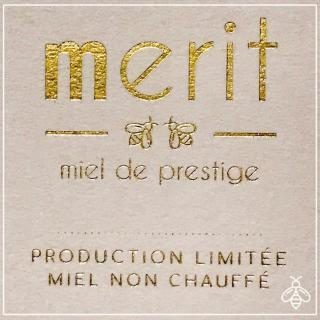 Merit - miel de prestige - Miel de ronce de prestige 500g - miel non chauffé - Miel - 4668