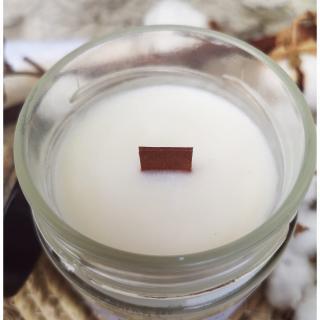 """Mes bougies craquantes - La petite Craquante de 200g """"Noix de coco"""" - Bougie - Noix de coco,  parfum de grasse"""