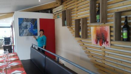 Michèle Blanchet-Durand - Peintures sur toiles originales avec les techniques apprises aux Beaux Arts ( annexe ) Grenoble 38