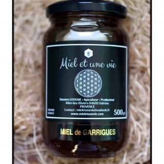 Miel Et Une Vie Apiculteur Producteur - Miel de Garrigues 500grs - Miel - 0.5