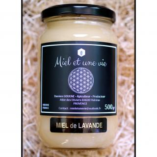 Miel Et Une Vie Apiculteur Producteur - Miel de Lavande 500grs - Miel - 0.5