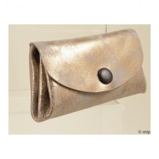 Mlp créations cuir - Gracieux - Porte-monnaie - Beige