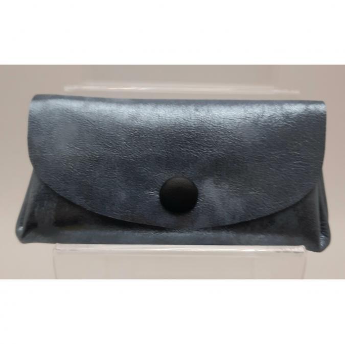 Mlp créations cuir - Gracieux - Porte-monnaie - Bleu
