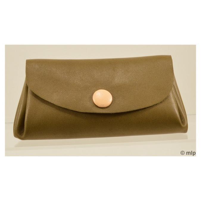 Mlp créations cuir - Gracieux - Porte-monnaie - Marron