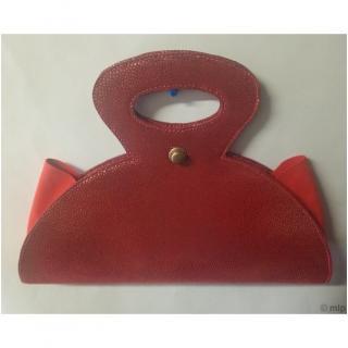 Mlp créations cuir - Regard - Sac à main - Rouge