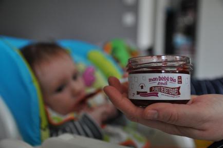 Mon bebe bio et moi - Petits pots bio écolos & engagés pour bébés. 100% français,label regional