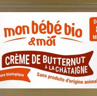 Mon bebe bio et moi - Crème de butternut - Purée pour bébé