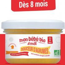 Mon bebe bio et moi - Douceur d'agrumes - Compote pour bébé