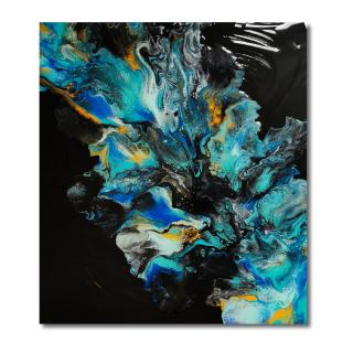 MorganeArt - Explosion florale - Tableau