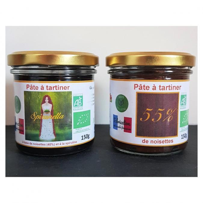 Natural'sace - Pack découverte pâtes à tartiner bio Natural'sace - Pâte à tartiner - 0.300