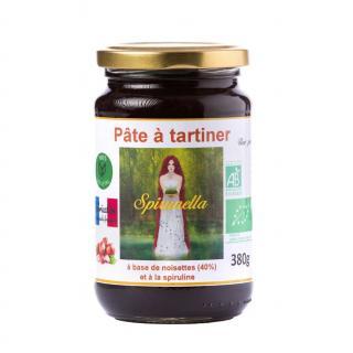 "Natural'sace - Pâte à tartiner bio ""Spirunella"" - 380 gr - Pâte à tartiner - 0.380"