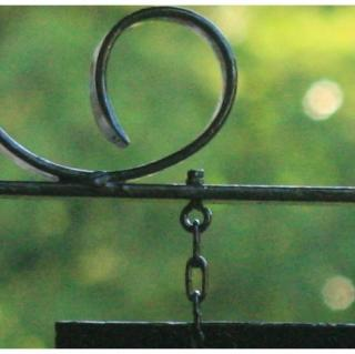 NaturelCreateur - Porte enseigne en métal - Porte enseigne en acier
