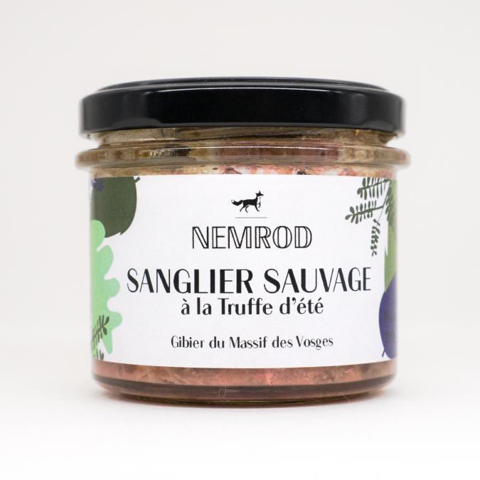 Nemrod - Terrine de Sanglier à la Truffe d'Été 100g - Pâté -