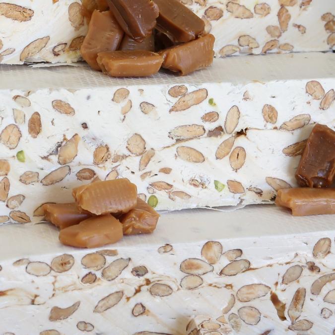 NOUGATS LAURMAR - Nougat au caramel beurre salé - Nougat